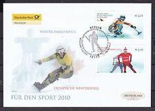 Echte Briefmarken-Ersttagsbriefe aus der BRD für Olympische Spiele