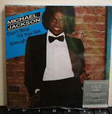MICHAEL JACKSON - DUAL DISC - DON'T STOP ' TILL YOU GET ENOUGH + DVD VIDEO