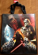 """NWT 2015 Star Wars VII FORCE AWAKENS 17""""x20"""" Lenticular Re-Useable Gift Tote Bag"""