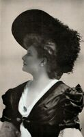 1905 Olive Fremstad Opera Mazzo-Soprano Singer Vintage Photo