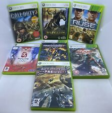 Microsoft Xbox 360 Game Bundle - Tested Shown Working Games Joblot Two Worlds