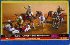 BUM Models 1/72 GERMAN AFRIKA KORPS CAMEL RECON TROOPS Figure Set