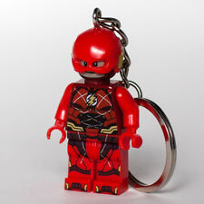 Custom Lego minifigure The Flash Superhero DC Comics HandMade Keychain