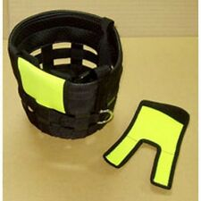 New Best Friend Muzzle Mate Finder Face Protector Neon Yellow Large Pair