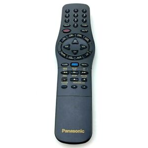 Panasonic TNQ2QAE007-1 Remote Control for TV, VCR   Tested and Works