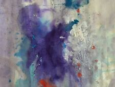 Kano Tohaku composition abstraite technique mixte signé artiste japon