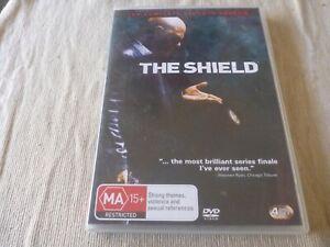 The Shield : Season 7 (4x DVD, 2010) Region 4 Michael Chiklis
