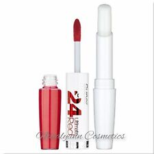 Maybelline SuperStay 24HR Lipstick & Balm 475 Hot Coral  -  NEW  -  NOT BOXED