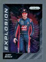 - Kurt Busch - 2018 Panini Prizm Silver #84 Explosion NASCAR Racing Card