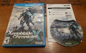 Xenoblade Chronicles X (Wii U, 2015) sequel rpg video game RARE COMPLETE