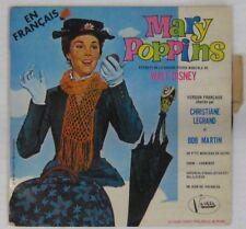 Walt Disney 45 tours Mary Poppins Chritiane Legrand Bob Martin