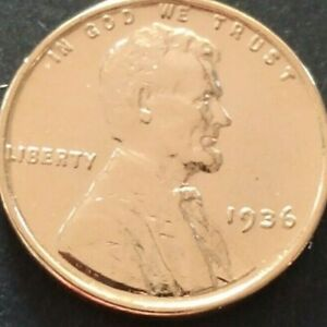 1936 GENUINE Lincoln Wheat Penny US Coin 24K GOLD PLATED CERTIFICATE included