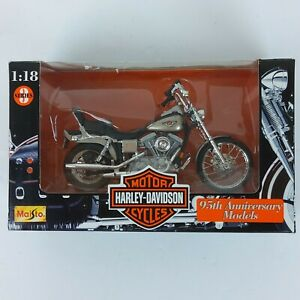 MAISTO 1:18 Scale Harley Davidson  FXDWG Dyna Wide Glide  7