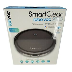 ionvac SmartClean 2000 Robovac - Hardwood & Carpeted Robot Vacuum Cleaner (NEW)