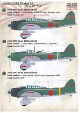"Print Scale Decals 1/72 AICHI D3A2 MODEL 22 ""VAL"" Japanese Dive Bomber"
