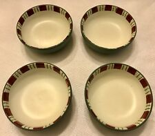 LENOX WINTER GREETINGS Everyday Set Of 4 CONDIMENT DISHES Bowls