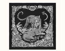 NWT Hermes Jungle Love Tattoo cashmere silk scarf shawl 140