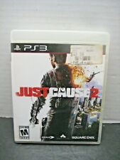 """Playstation 3 Video Game """"Just Cause 2"""" Rated M Electronic Entertainment Fun"""