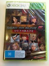 Dead Or Alive 5 Ultimate (RARE AUSTRALIAN EDITION!!!!) NEW PAL game for Xbox 360