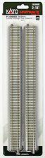 """Kato 2-181 Concrete Tie 369mm (14 1/2"""") Straight Track S369PC (HO scale)"""