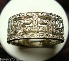 Stunning 1.80ctw CZ Cubic Zirconia Bridal Wedding / Anniversary Band Ring Size6