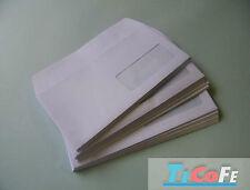 Buste lettera 11x23 adesive strip con finestra ufficio spedizione posta pezzi 50