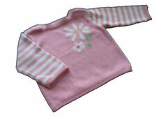 Girls Baby Gap 6 12 mo Pull over sweater LS Flower top