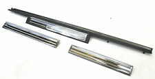2003-2006 MERCEDES BENZ S55 AMG W220 OEM RIGHT SIDE FRONT DOOR SILL SET OF THREE