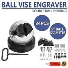 5 Ball Vise Engraver Engraving + Accessory Set 34pcs Jewelry Making,Wood Carving