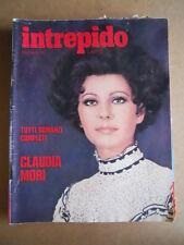 INTREPIDO n°31 1973 Claudia Mori Anna Karina Rally 73 il Bus dei sogni  [G551]