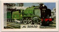 British Railways Type 4 Warship Class Locomotive Engine Vintage Trade Ad Card