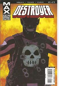 °DESTROYER #1 PART 1 von 5° US Marvel MAX 2009 Robert Kirkman