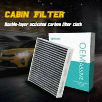Car Activated Carbon Cabin Air Filter For Honda City Civic CR-Z Fit HR-V Insight