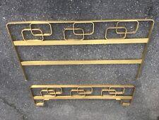 elements de lit design 70 bronze ? Laiton façade banquette