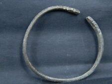 Ancient Bactrian C.300 BC Bronze Bracelet   ###B2104###