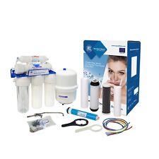 Sistema de osmosis inversa de 5 etapas * Filtro de agua potable * Ro * Aquafilter RX55139415