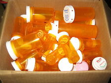 2 Pounds of Plastic Pill Bottles, great for storage