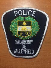 PATCH POLICE CANADA - SALABERRY DE VALLEYFIELD ( QUEBEC ) - ORIGINAL!