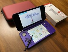 Nintendo New 2DS XL - Purple / 128GB / 40+ Games / Charger / CFW - NR MINT