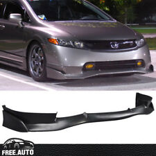 FIT 2006-2008 HONDA CIVIC 4DOOR MUG SI FRONT BUMPER LIP SPOILER POLY URETHANE PU