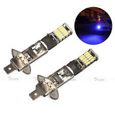2x26LED H1 Deep Blue Car Fog Driving Light DRL DayTime Running Headlight Lamp #B