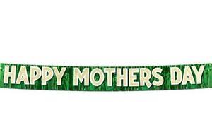 Happy Mothers Day Fringe 9ft Large Banner Bunting Celebration Party  Mum Gift