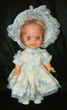 """Vintage Saucy Doll By Mattel, Funny Changing Faces Expressions 1972 15"""" Works!!"""