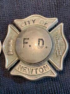 Old Vintage Newton Fire dept. badge.
