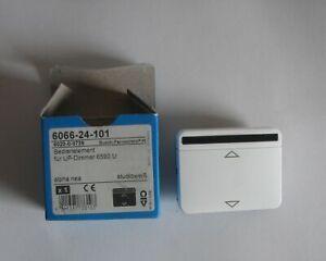 Busch-Jaeger 6066-24-101 Control For up - Dimmer 6590U Alpha Nea Studio White