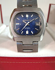 Sandoz heavy automatic Vintage watch