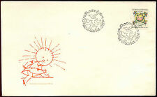 Checoslovaquia 1974 Childrens Día Fdc #c 33566