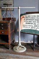 vintage Art Deco Clothing Rack Barber Shop pole hall tree antique arts crafts