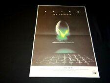 ALIEN ! ridley scott affiche cinema science fiction