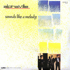 """Alphaville 7"""" Sounds Like A Melody - France (VG+/EX)"""